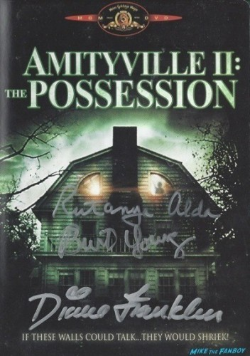 \AMITYVILLE 2 the possession dvd cover rare