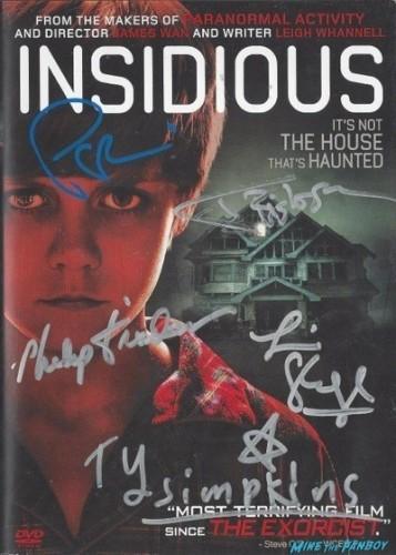 insidious signed dv