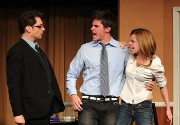 "Mark Hapka & Molly Burnett Co-Host ""ACME Saturday Night.""Held at the ACME Comedy Theatre on September 18, 2010."