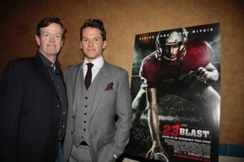 Dylan Baker & Mark Hapka (Days) stars in 23 Blast and Regal Cinemas Theatre, New York City. (Photo by Sue Coflin/Max Photos)