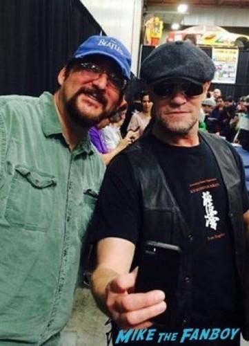 michael rooker fan photo selfie
