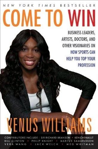 venus williams signed book