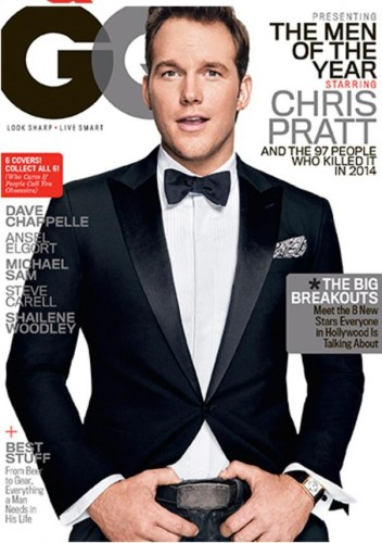 chris pratt gq men of the year award cover