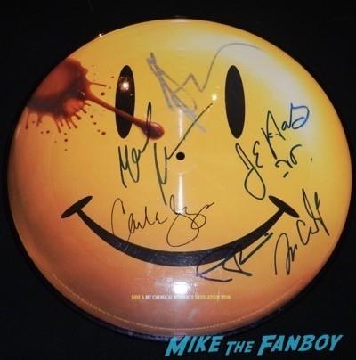 watchmen cast signed autograph picture disc billy crudup