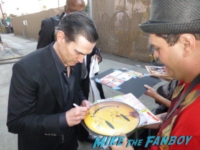 Billy Crudup Signing Autographs Jimmy Kimmel live 2014 28