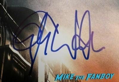 Christoph Waltz Signing Autographs Jimmy Kimmel Live 2014 1