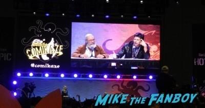 battlestar Galactica reunion Comikaze expo 2014 convention floor stan lee signed autograph 3