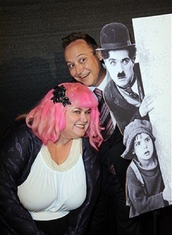 Coogan Centennial jackie coogan tribute with Keith Coogan 1