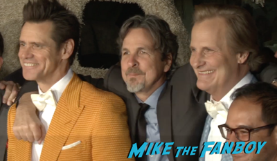 Dumb and Dumber to world premiere jim carrey jeff daniels red carpet 4