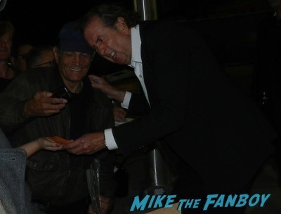 Eric Idle signing autographs la live talks with john cleese 1