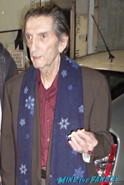 Harry Dean Stanton signing autographs 2014 now alien 10