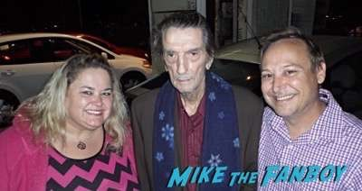 Harry Dean Stanton fan photo selfie rare