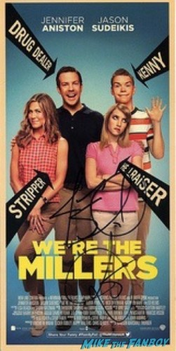 jennifer aniston we're the millers poster