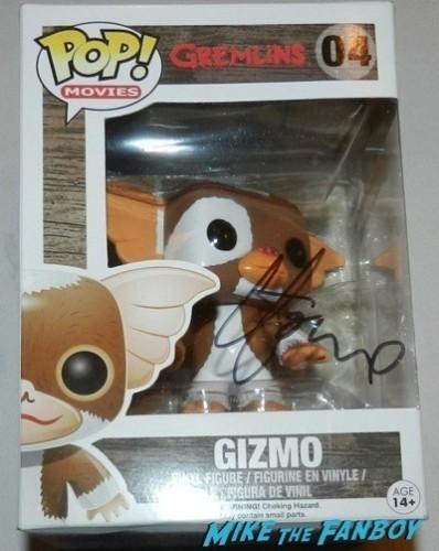 Howie Mandel signed autograph gizmo pop vinyl Signing autographs comikaze 2014 signed  10