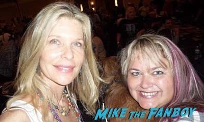 Kate Vernon fan photo rare now 2014