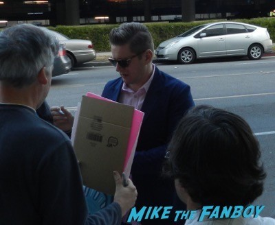 Allen Leech signing autographs imitation game q and a benedict cumberbatch  8