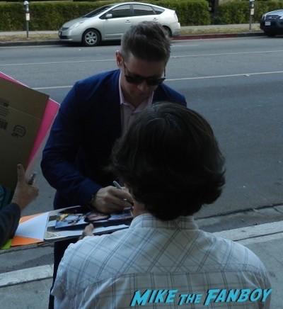 Allen Leech signing autographs imitation game q and a benedict cumberbatch  8