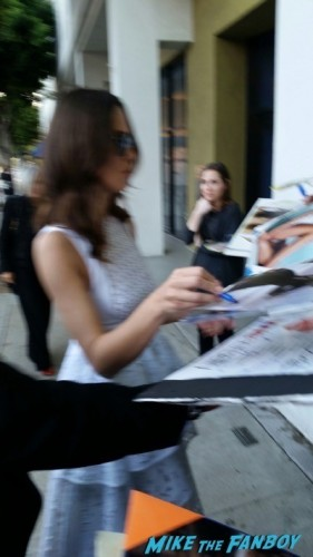 Keira Knightley signing autographs imitation game q and a benedict cumberbatch  7