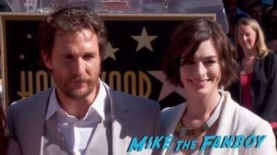 MATTHEW MCCONAUGHEY - STAR ON HOLLYWOOD WALK OF FAME 6