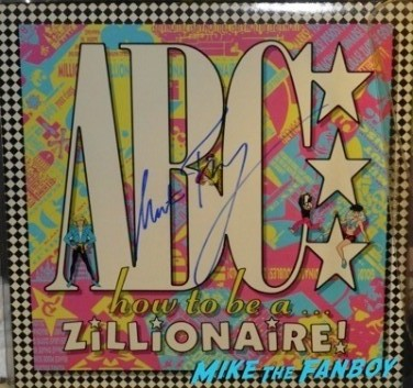 Martin Fry signing autographs abc band now 2014 3