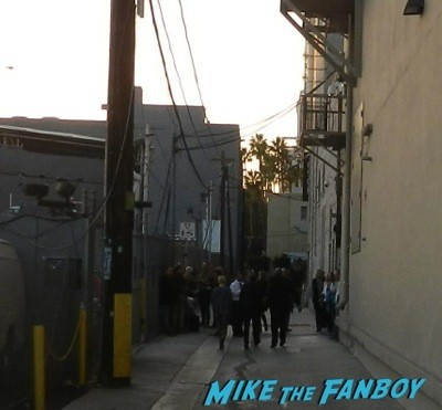 Mike Myers Signing Autographs Jimmy Kimmel Live 2014 1