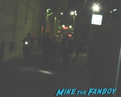 Nathan Fillion signing autographs jimmy kimmel live 2014 mal reynolds  1