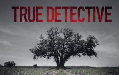true detective logo poster