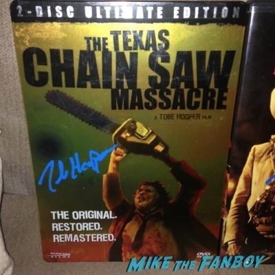 Tobe Hooper Signing Autographs Vista Theater 2