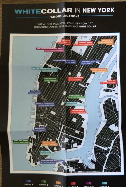 White Collar locations