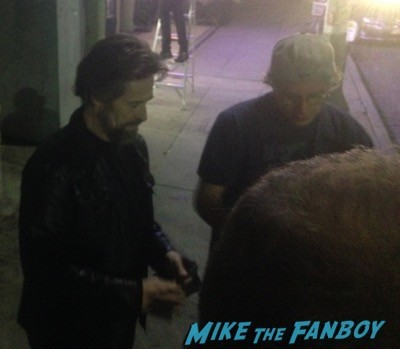 Willem Dafoe signing autographs spider man 3