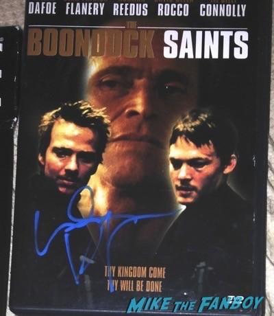 Willem Dafoe signed Boondock saints dvd cover signing autographs spider man 1