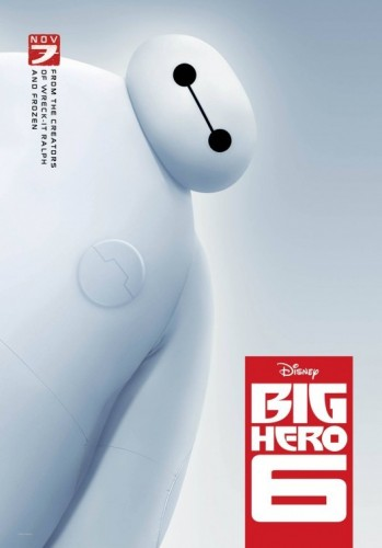 big_hero_six poster