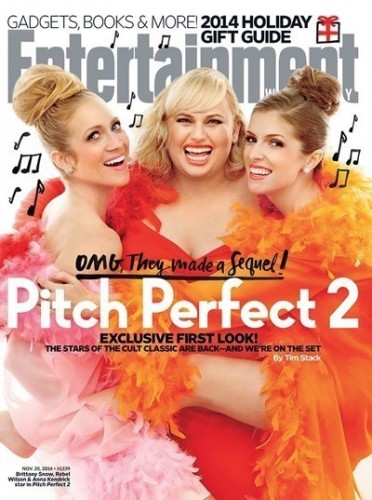 entertainment weekly pitch perfect 2 photo shoot magazine cover  1