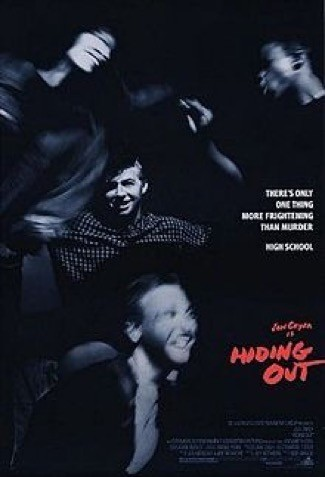 Hiding out movie poster