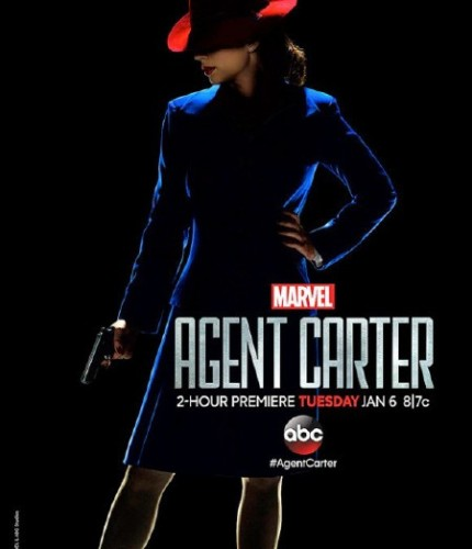Agent Carter - looking down
