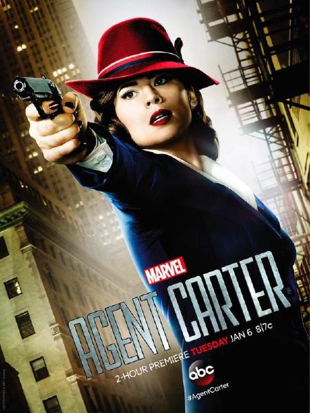 Agent Carter poster - tilt