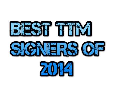 TTM Signers of 2014