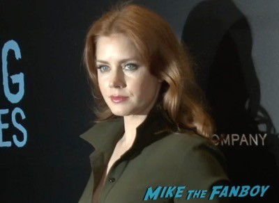 Big Eyes movie premiere amy adams red carpet 2