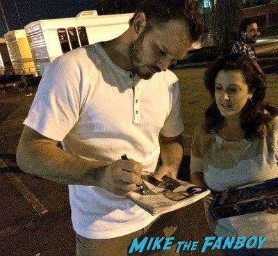 Chris Pratt Meeting Fans On The Set Of Parks And Recreation 1