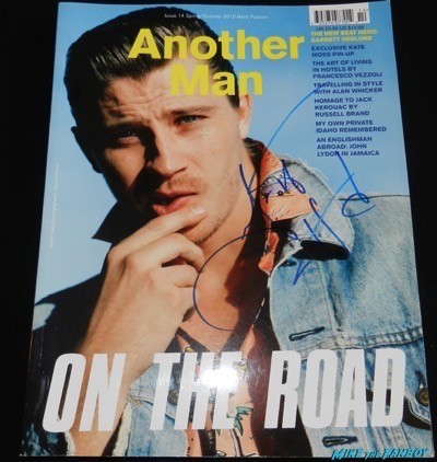 Garrett Hedlund signed autograph another man magazine cover hot 3
