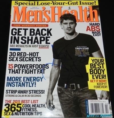 Garrett Hedlund signed autograph magazine cover hot 6