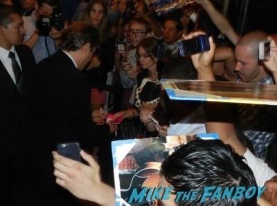 Joaquin Phoenix signing autographs Inherent Vice AFI Premiere Joaquin Phoenix signing autographs josh brolin 11