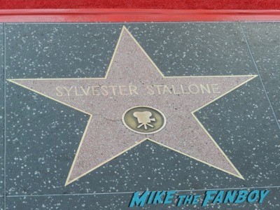 sylvester stallone's star in hollywood Inherent Vice AFI Premiere Joaquin Phoenix signing autographs josh brolin 1