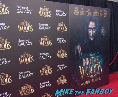 Into The Woods NY Movie Premiere Maryl Street Red Carpet 1