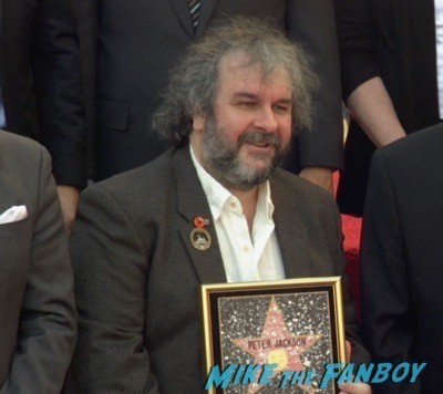 Peter Jackson Walk Of Fame Star Ceremony autograph signing 1