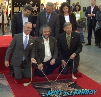 Peter Jackson Walk Of Fame Star Ceremony autograph signing 10