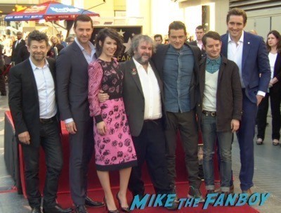 Peter Jackson Walk Of Fame Star Ceremony autograph signing 11