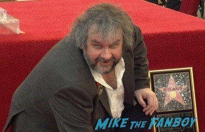 Peter Jackson Walk Of Fame Star Ceremony autograph signing 12