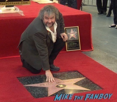 Peter Jackson Walk Of Fame Star Ceremony autograph signing 19