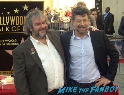Peter Jackson Walk Of Fame Star Ceremony autograph signing 2